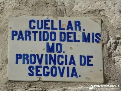 Castillos de Cuellar y Coca - Arte Mudéjar;foro senderismo madrid rutas monasterio de piedra asocia